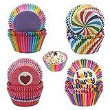 400Pcs Tazas para Hornear Cupcakes, Taza para Hornear Muffin, Mini Muffins Tazas, Moldes de Papel...