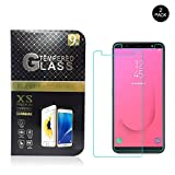 Galaxy J8 2018 Protector de pantalla, Dureza 9H/Anti-Explosion/HD Display, 2.5D Protector de pantalla de vidrio templado para Galaxy J8 2018