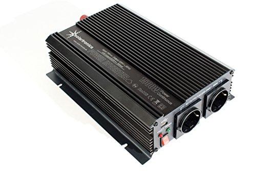 Spannungswandler 24V 1500 3000 Watt 230V - Wechselrichter für den mobilen Anschluss von Haushaltsgeräten …