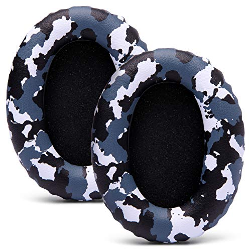 WC Wicked Cushions Replacement Ear Pads for Sony WH1000XM3 - Cloud Like Comfort and Enhanced Durability | Updated Version 2020 (Snow Camo)