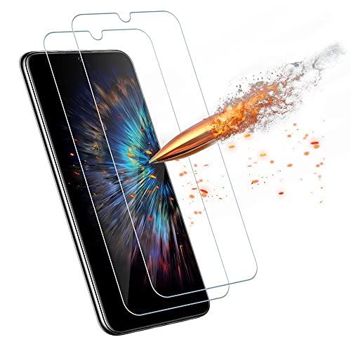 Agedate für Huawei P Smart 2019/Honor 10 Lite/Honor 8A Schutzfolie Panzerglas[2 Stück], 9H Härtglas Kratzfest Bildschirmschutz, Ultra-klar Panzerglasfolie