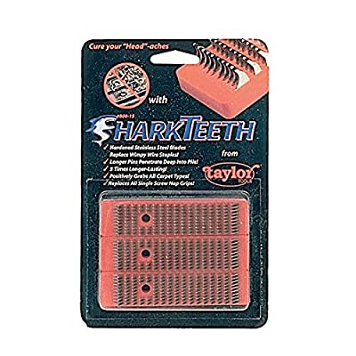 Taylor Tools 800.15 Shark Teeth Knee Kicker Grips