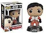 "Funko 6230 Star Wars 6230 ""Pop Bobble E7 TFA Poe Dameron Figure with/without Helmet..."