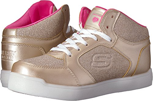 Skechers Damen Energy Lights: E-pro Glitter Glow Hohe Sneaker, Gold (Gold Gld), 37 EU
