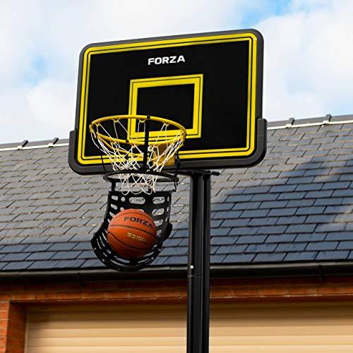 FORZA Basketball Shot Returner | 180-Degree Basketball Ball Return System