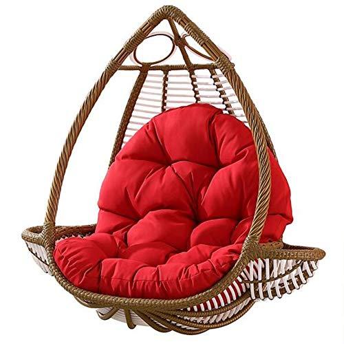 Colgante Huevo Hamaca Silla Cojines Sin Soporte, Desmontable Blando Confort Muebles de Dormitorio Sillon Colgante Cojin