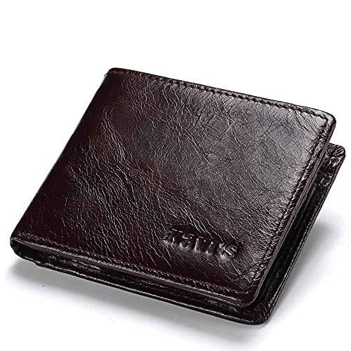 RongDuosi antimagnetische portemonnee mannen mode multi-card portemonnee kleine verandering mannen tas heren tassen schouder leer