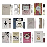 Infinite Scents 12 Women's Designer Fragrance Sampler Collection, 12 Luxury High-End Perfume Vials for Women, Mini Perfume Samples Gift with Premium Plush Velvet Pouch for Girlfriend, Wife, or Mother