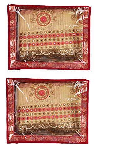 Glitter Collection CLRCOMBO Lot de 10 sachets pour sari