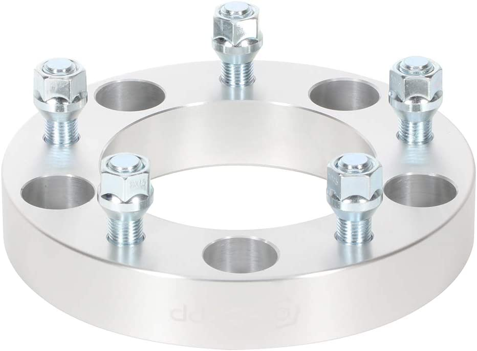 WHEELTECH 4pc 1.25 32mm 5x150 to 5x150 Wheel Spacers 5 lug 14x1.5 Studs Fit for 1998-2007 Land Cruiser LX470 W//O Lip Adapters