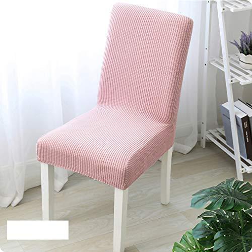 AMURAO Super Soft Polar Fleece Stoff Esszimmer Stuhlbezug Spandex Elastic Stuhl Schonbezug Fall Stretch Stuhlbezug für die Küche
