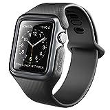 Clayco Bracelet pour Apple Watch 42mm, Coque Bracelet de Protection Robuste Bande de...