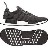 Adidas NMD_R1, Zapatillas de Deporte para Hombre, Gris Grmetr/Ftwbla 000, 44 2/3 EU