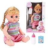 Puppen Reborn, Sweet Sounds sprechende Puppe Girl und Zubehör, weiche realistische Sounds Babypuppen realistische Babys handgefertigt für Kinderspielzeug