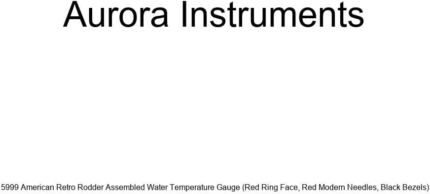 Aurora Instruments 5% OFF Spasm price 5999 American Retro Te Assembled Water Rodder
