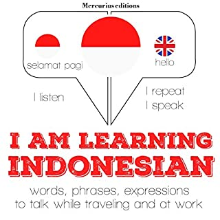 I am learning Indonesian cover art