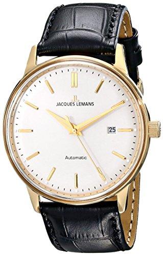 Jacques Lemans Nostalgie Reloj Automático para hombres Clásico & sencillo