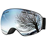 OMORC Gafas de Esquí, Gafas Snowboard, Unisex, Lente de...