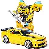 Trasformatori giocattoli Bumblebee Toys-Transformers Toys Studio Series Ironhide Action Figure Ultimate Class Optimus Prime Siege Deluxe Class MP04 Autobot Hound Action Figure, Bambini età 6 e su