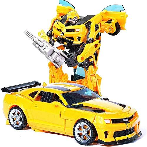 Transformers Toys Bumblebee Toys-Transformers Toys Serie de estudio Ironhide Action Figura Ultimate Class Optimus Prime Siege Deluxe Class MP04 Autobot Hound Figure, niños de 6 años. ( Color : H602 )