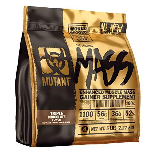 Mutant MASS LIMITED EDITION, Weight Gainer, 2270 g Beutel, Triple Chocolate, Schokolade