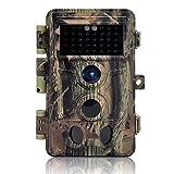 DIGITNOW! Caméra de Chasse 16MP 1080P IP66 Étanche, Caméra Surveillance avec 40Pcs LED Vision Nocturne Infrarouge Jusqu'à 65FT et Grand Angle 120°