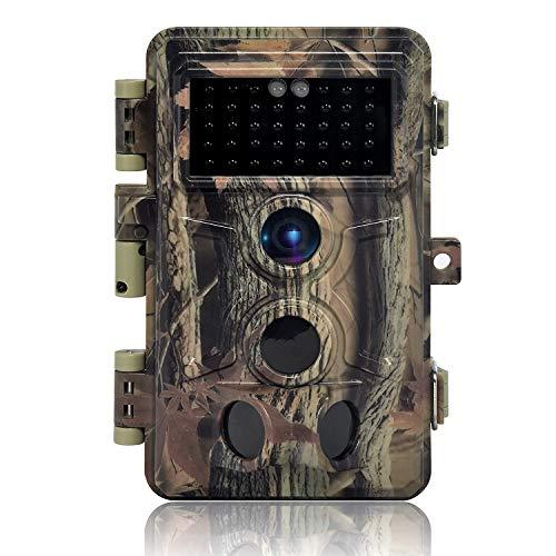 DIGITNOW! Caméra de Chasse 16MP 1080P IP66 Étanche, Caméra Surveillance avec 40Pcs LED Vision...