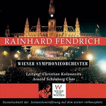 Live Mitschnitt der Festwocheneröffnung auf dem Wiener Rathausplatz