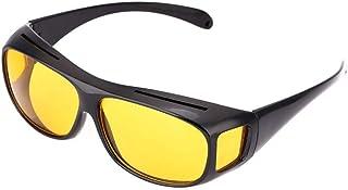 نظارة شمسية للجنسين للرؤية الليلية والقيادة عالية الوضوح ومضادة للوهج وبحماية من الأشعة فوق البنفسجية