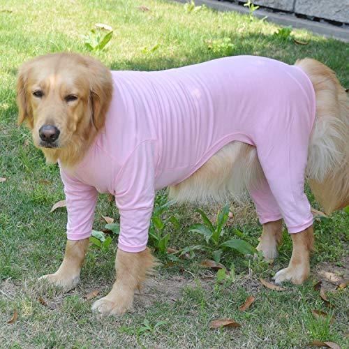 Lovelonglong pijama ligero para perro, de cuatro pies, de...