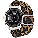 Compatible for Movado 2.0 Smartwatch Band, YOUkei Stretch Elastics Adjustable Replacement...
