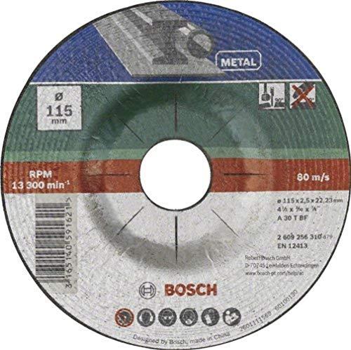 Bosch DIY Trennscheibe Metall für Winkelschleifer (Ø 115 mm, gekröpft, A 30 S BF)