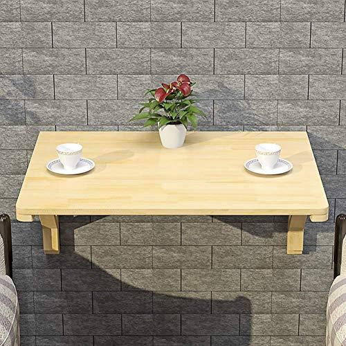 XHCP Madera Mesa de Hoja abatible montada en la Pared Mesa de Comedor Plegable Cocina Mesa de Comedor Escritorio de la computadora para ninos Ahorre Espacio (Tamano: 120X50cm)