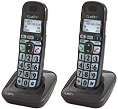 $85 » Clarity D703HS Moderate Hearing Loss Cordless Handsets (2 Pack)