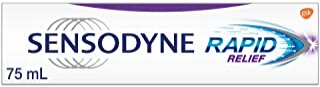 Sensodyne Toothpaste Rapid Relief Daily Sensitivity Toothpaste, Mint, 75ml