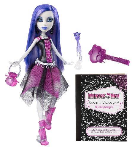 Mattel V7962 - Monster High Spectra Vondergeist, Tochter der Geister, Puppe