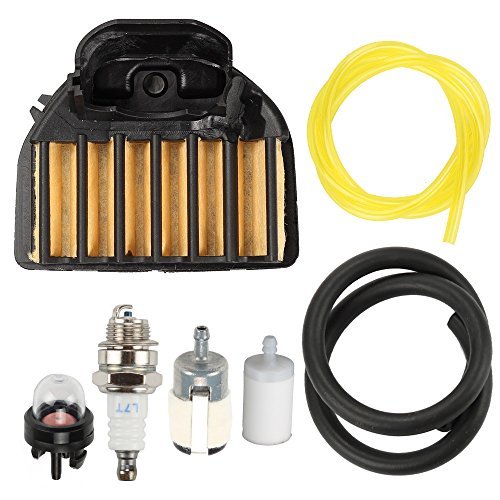 Harbot Air Filter Fuel Line Filter Carburetor Tune Up Kit for 455E 455 Rancher 460 461 Gas Chainsaw 537255701