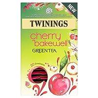 トワイニングチェリーベイクウェルパックあたりの緑茶20 - Twinings Cherry Bakewell Green Tea 20 per pack [並行輸入品]