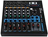 KEKROWN KMX-6U with built in USB Media Player Channel Analog Sound Mixer