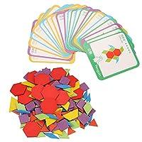 教育玩具、パズルボードセット、耐久性のある木製パズルボード、幼児のための子供子供幼児、男の子と女の子のための就学前