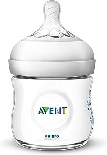 Philips Avent Natural Baby Bottle, Clear, 4oz, 1pk, SCF010/17