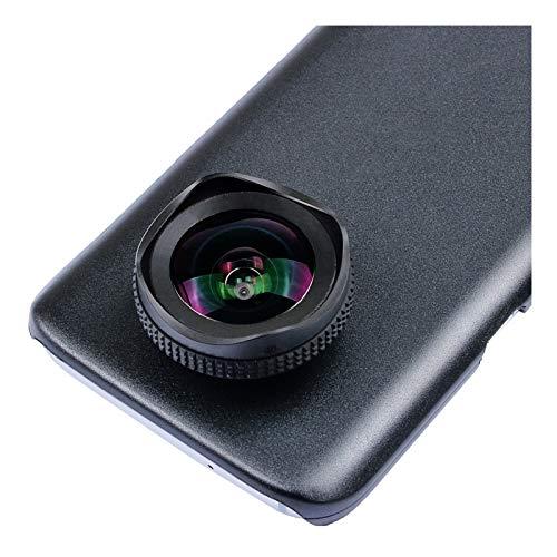 Compatible Cámara Principa 2 En 1 Kit De Lentes De Cámara De Teléfono 16 Mm 4K Lente Móvil De Gran Angular con Filtro CPL Fit For Samsung S8 Plus En Lente De Teléfono Celular