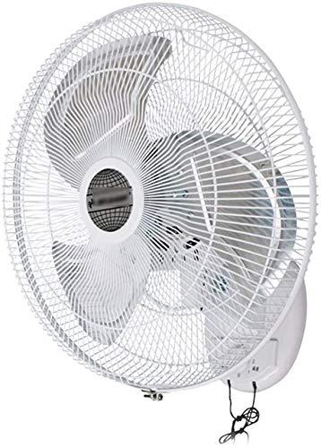 Haojie Ventilador Montaje, PEQUEÑO OSOSILLATE/Rotary 3-Velocidad Cabeza de inclinación de inclinación y Temporizador Función de enfriamiento eléctrico para el Verano en casa,45cm~130w