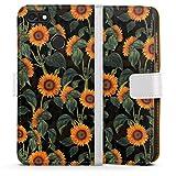 DeinDesign Étui Compatible avec Huawei P9 Lite Mini Étui Folio Étui magnétique Tournesol Jaune...