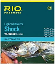 Rio Fishing Products Light Fluorocarbon Saltwater Shock Leader, 10ft, 2 Pack