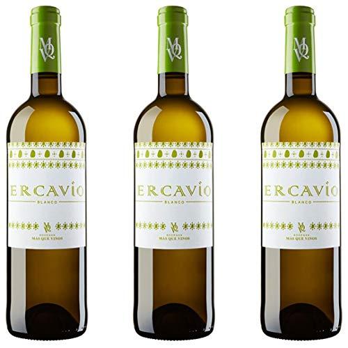 Ercavio Blanco Vino Blanco - 3 botellas x 750ml - total: 2250 ml