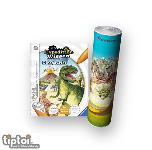 tiptoi Ravensburger Buch | Expedition Wissen: Dinosaurier + Dino Poster mit Tyrannosaurus Rex