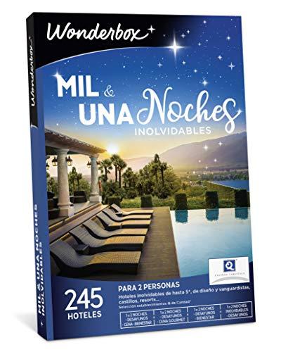 WONDERBOX Caja Regalo - MIL & UNA Noches INOLVIDABLES - 245 hoteles en España y Europa