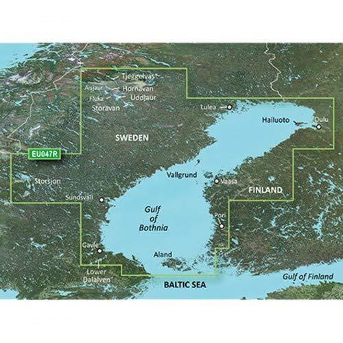 Garmin BlueChart g3 Seekarte Region Europa, Abdeckungsbereich HXEU047R - Bottnischer Meerbusen, Kartengröße Regular