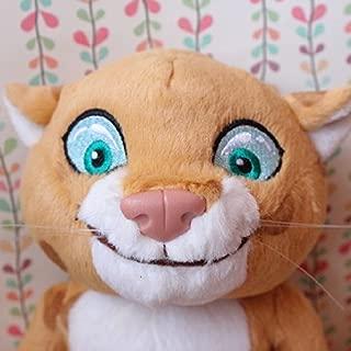 Original 2014 Sochi Winter Olympics Mascot Panthera Uncia Cute Soft Stuffed Animal Plush Toy Doll Birthday Gift Collection